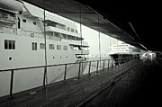 Boat Cruise Photo Posters - Cruise Ships Poster by Dean Harte