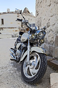 Cruiser Motor Bike Turkey Print by Kantilal Patel