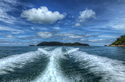 Pangkor Laut Digital Art - Cruising by Adrian Evans