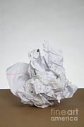 Frustrated Posters - Crumpled Mistake Poster by Photo Researchers, Inc.