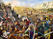 Templar Paintings - Crusades by John Palliser