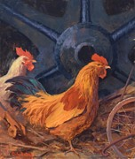 Industrial Painting Prints - Crusin for Chicks Print by Cody DeLong