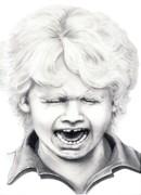 Cry Baby Print by Murphy Elliott