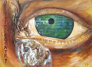 Human Rights Paintings - Cry my beloved country by Grady Zeeman