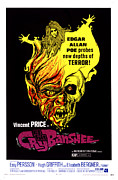 Supernatural Monster Prints - Cry Of The Banshee, 1970 Print by Everett