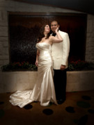 Wedding Photo Prints - Crystal and Chris 2 Print by James Granberry