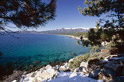 Crystal Clear Posters - Crystal Bay Winter Scenic Poster by George Oze