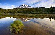 Reflection Lake Prints - Crystal Clear Print by Mike  Dawson