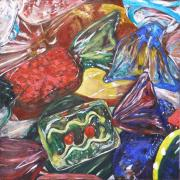 Photorealism Prints - Crystal Confections Print by Ann Caudle