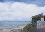 Ocean Paintings - Crystal Cove by Sharon Mason
