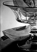 Gabor Bartal - Crystal Dish With Melons
