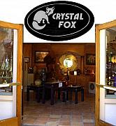 Fox Sculptures - Crystal Fox Gallery side entrance by Daryl Stokes