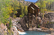 Marty Koch Art - Crystal Mill 3 by Marty Koch