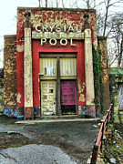 Weathering Prints - Crystal Pool II Print by Steven Ainsworth