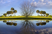 West Palm Beach Prints - Crystal Waters Print by Debra and Dave Vanderlaan