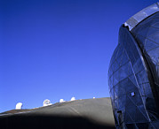 Mauna Kea Photos - Cso & Other Telescope Domes by G. Brad Lewis