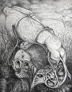 Ctulhu Seedpods Print by Otto Rapp