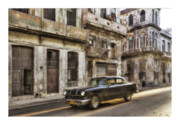 Car Greeting Cards Posters - Cuba 01 Poster by Marco Hietberg