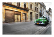 Car Greeting Cards Posters - Cuba 02 Poster by Marco Hietberg