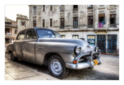 Car Greeting Cards Posters - Cuba 03 Poster by Marco Hietberg