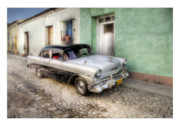 Car Greeting Cards Posters - Cuba 04 Poster by Marco Hietberg