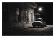Car Prints Digital Art Posters - Cuba 05 Poster by Marco Hietberg