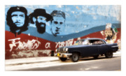Car Greeting Cards Posters - Cuba 08 Poster by Marco Hietberg