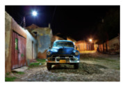 All Blue Framed Prints - Cuba 09 Framed Print by Marco Hietberg