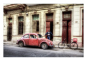 Havanna Framed Prints - Cuba 17 Framed Print by Marco Hietberg