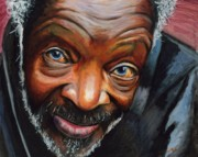 Homeless Painting Posters - Cuban Poster by Michael Whitlark