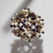 Hand Made Sculptures - Cube o Beads by Gumwrapper Origumi