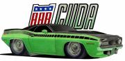 Cartoon Originals - Cuda Toon by Lyle Brown