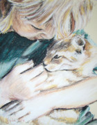 Furry Pastels - Cuddle Kitty by Jodi Cox
