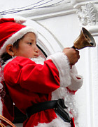 Christmas Eve Art - Cuenca Kids 10 by Al Bourassa