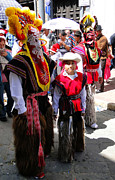 Poncho Photos - Cuenca Kids 156 by Al Bourassa