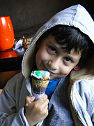 Children Ice Cream Prints - Cuenca Kids 178 Print by Al Bourassa