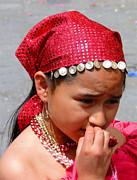 Cuenca Kids 53 Print by Al Bourassa