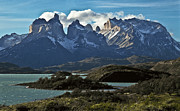 Inhospitable Framed Prints - Cuernos Del Paine, Paine Horns Framed Print by Jason Edwards