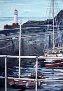 Bouys Paintings - Cullen Beacon by Trudy Kepke
