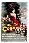 Cult Of The Cobra, Marshall Thompson Print by Everett