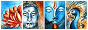 Mythical Series Framed Prints - Cultural Diversity Framed Print by Harsh Malik