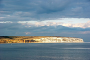 Summer Squall Framed Prints - Culver Down Framed Print by Michael Stretton