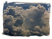 Juvenile Wall Decor Photo Metal Prints - Cumulonimbus Metal Print by Priscilla Richardson