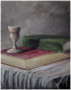 Kenneth McGarity - Cup and Books