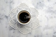 Black Lace Photos - Cup by Bernard Jaubert