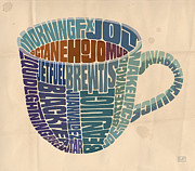Coffee Cup Prints - Cup o Joe Print by Mitch Frey