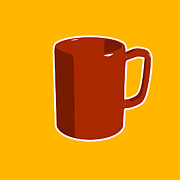 Coffee Cup Prints - Cup of Coffee Graphic Image Print by Pixel Chimp