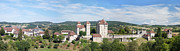Midi Prints - Curemont panorama Print by Rod Jones