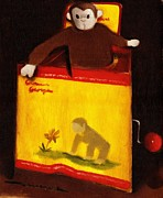 Curious George Still Life Print by Tommervik