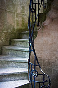 Staircase Photo Metal Prints - Curly Stairway Metal Print by Carlos Caetano